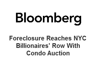 Foreclosure Reaches NYC Billionaires' Row With Condo Auction