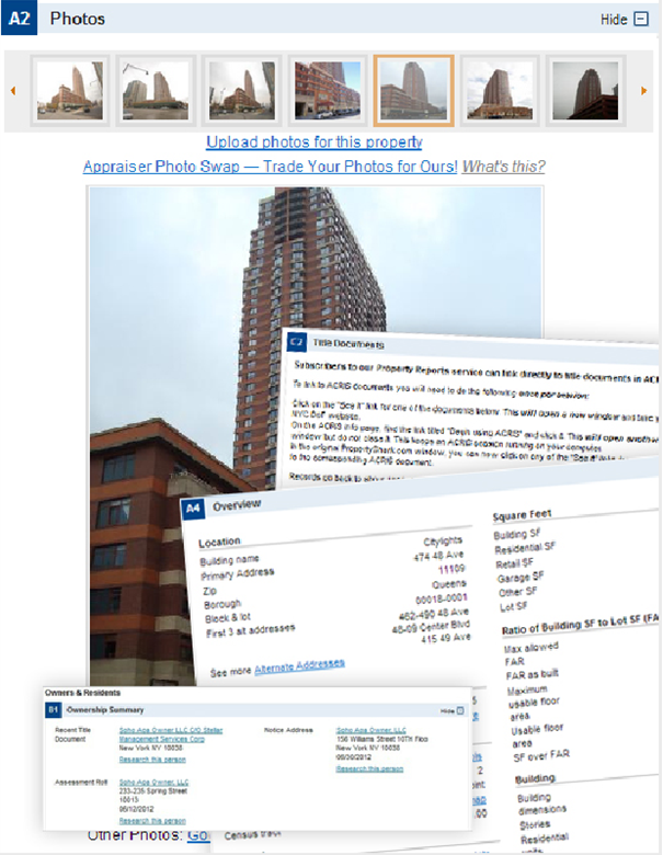 sample property report